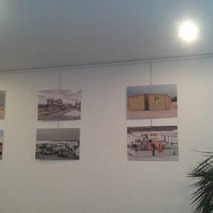 Parte della mostra fotogtrafica